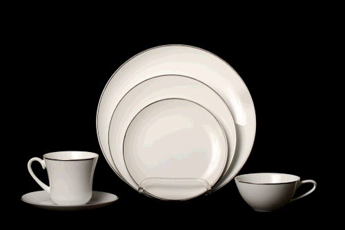 Where to find White with Silver China in Corvallis