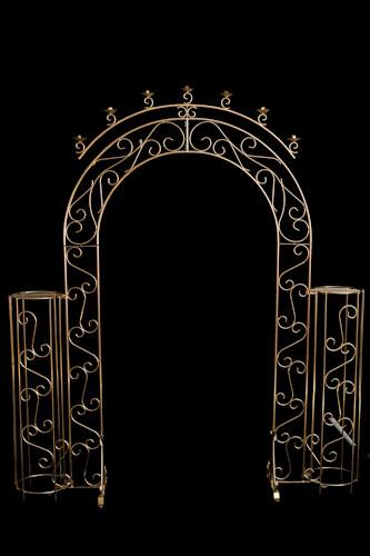 Where to find Brass Arch   Flower Pillars in Corvallis
