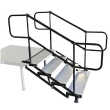 Rental store for Stage Stairs, 4 step Self Adjusting in Corvallis OR