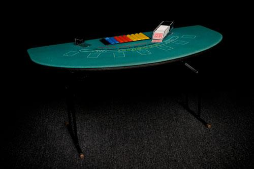 Where to find Black Jack Table   Set in Corvallis