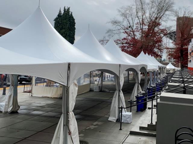 Where to find Hi Peak Tents in Corvallis