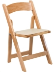 Rental store for Natural Maple Padded Chairs in Corvallis OR