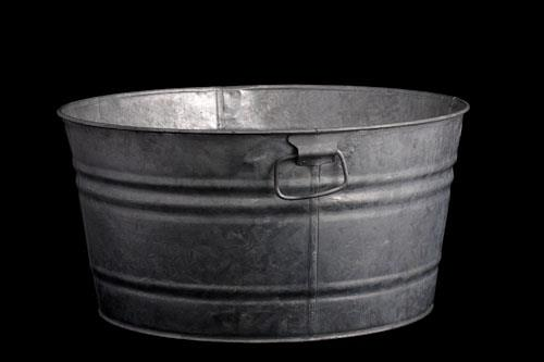 Where to find Tub - Galvanized Round, Small in Corvallis