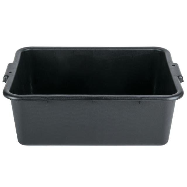 Where to find Bus Tub, Black Plastic in Corvallis