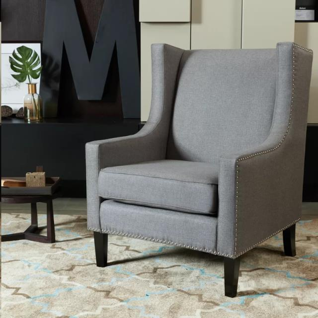 Where to find Gray Wingback Chair in Corvallis