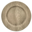 Rental store for 13  Gray Faux Wood Charger in Corvallis OR