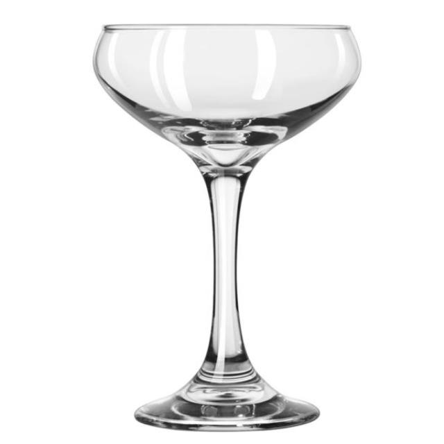 Where to find Champagne Coupe Glass 8.5 oz in Corvallis