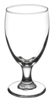 Rental store for Water Goblet Glass 10.5 oz in Corvallis OR