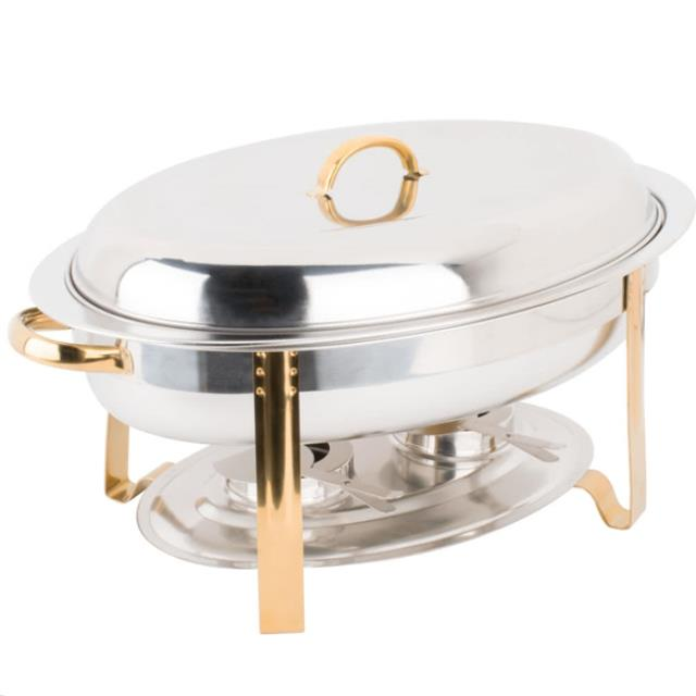 Where to find Chafer - Deluxe Oval w  Gold in Corvallis